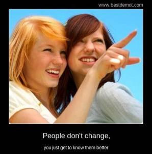 se schimba oamenii