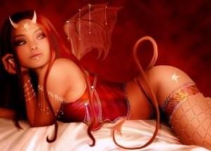 bad-girl-horns-woman